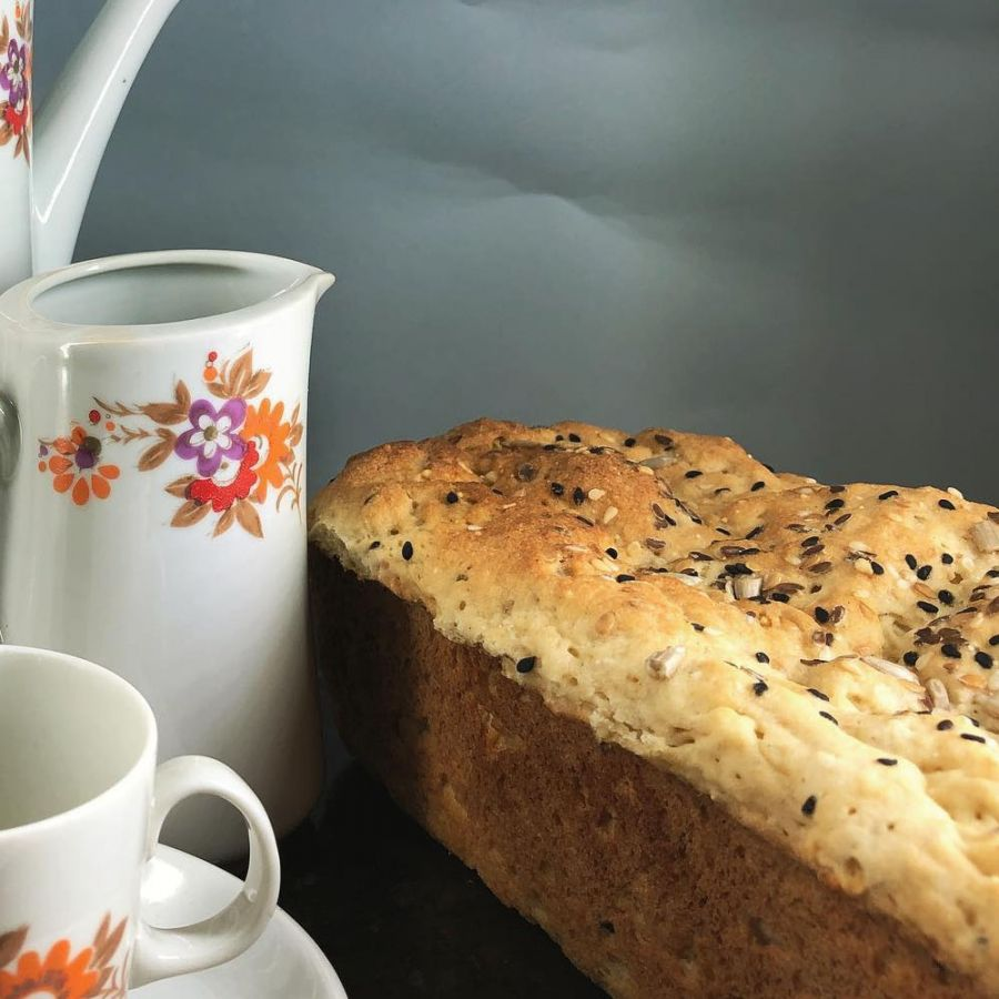 Pão de sementes Tomilho Fresco
